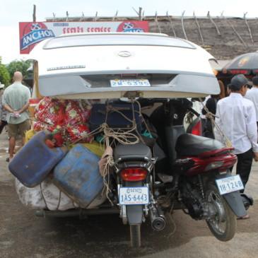 Une journee de bus pour Siem Reap