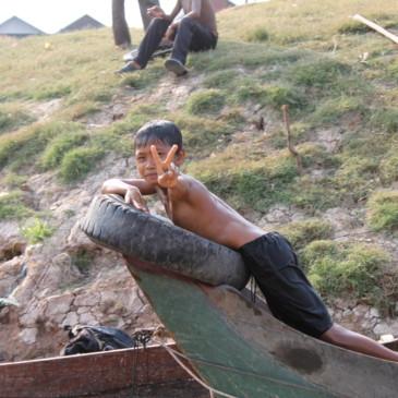 Le village de pécheurs de Kompong Pluk