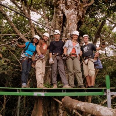 Zip line au Costa Rica