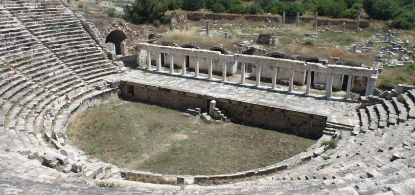 Le théâtre d'Aphrodisias
