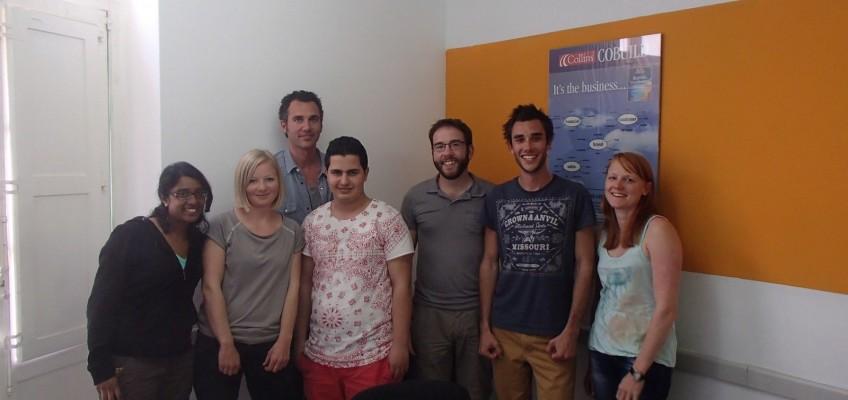 Classe d'anglais à La Valette à Malte