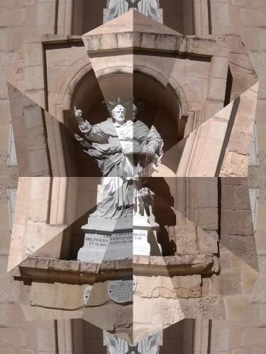 Statue à La Valette