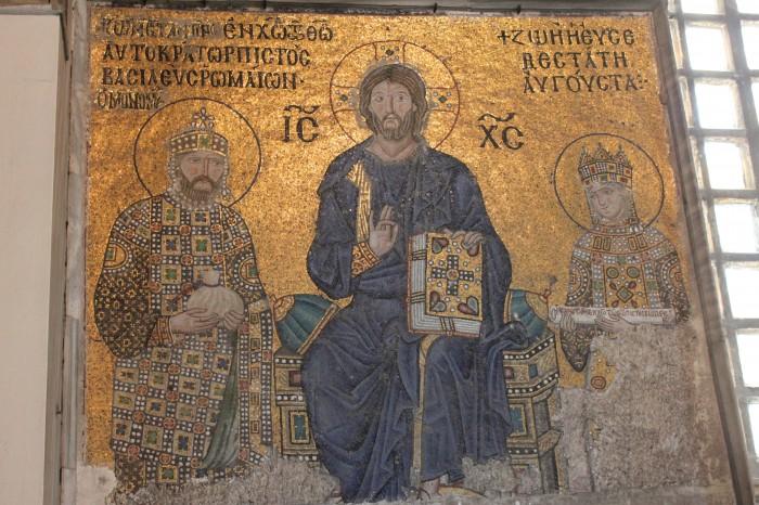 Icônes dans Sainte Sophie