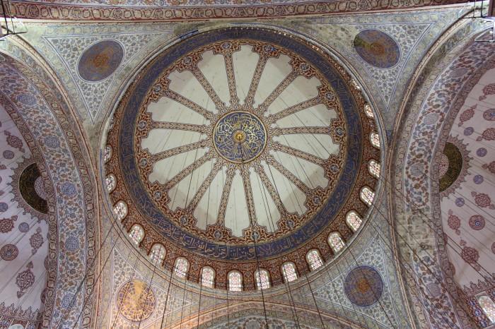 Dome d'une mosquée à Istanbul