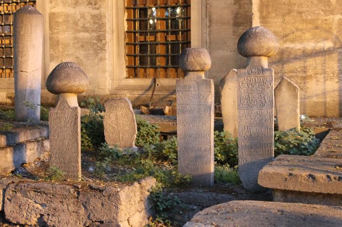 Cimetière ottoman à istanbul