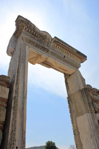Portail d'église à Ephèse