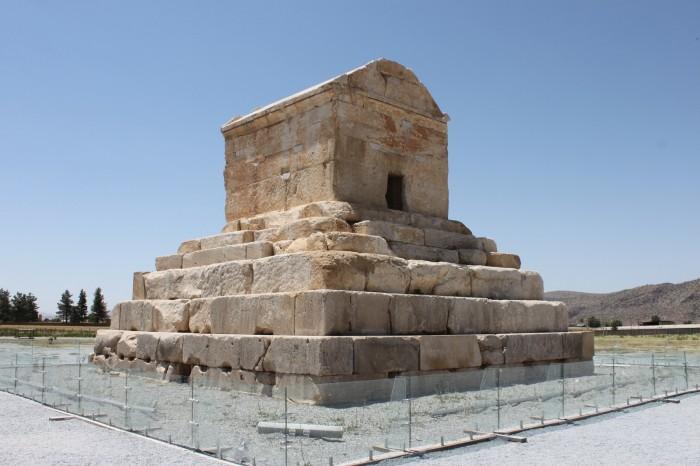 La tombe de Cyrus le Grand