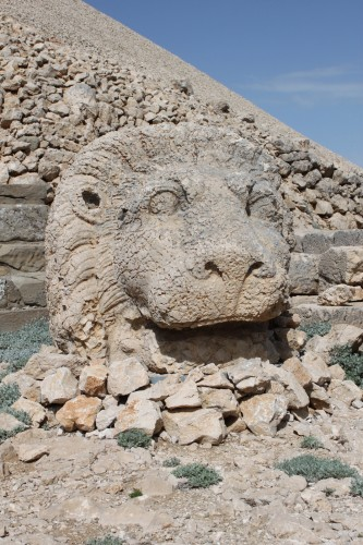 Lion protecteur à Nemrut Dagi