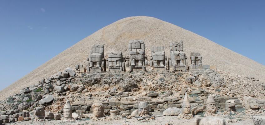 Le mausolée de Nemrut Dagi