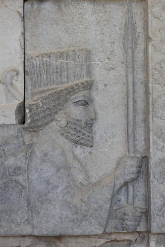Un immortel, soldat de Xerxes