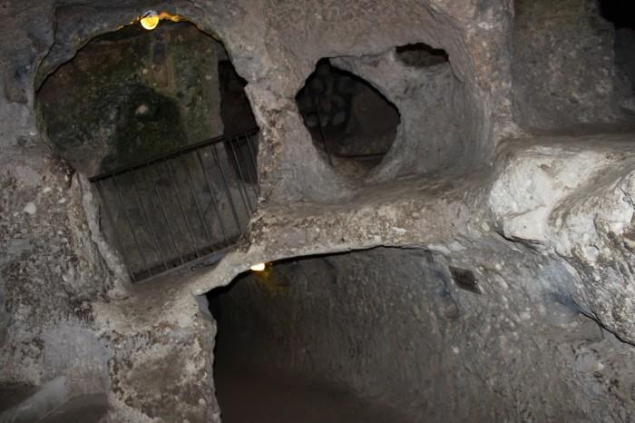 Ville souterraine en Turquie