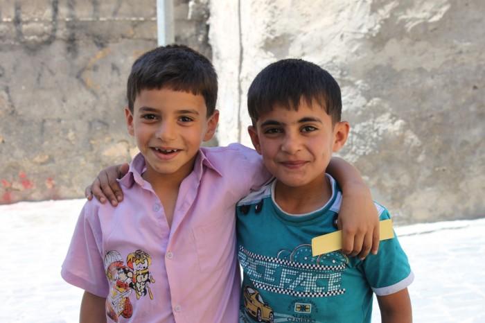 Enfants à Urfa dans l'est de la Turquie