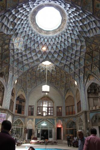 Le bazar de Kashan