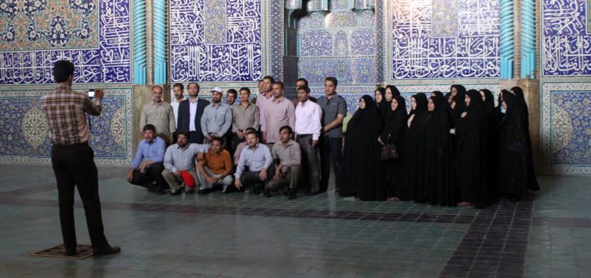 Photo de groupe version iranienne