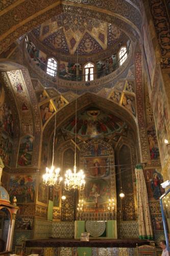 Eglise arménienne, quartier de Jolfa, Isfahan