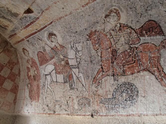 Fresques rupestres Goreeme