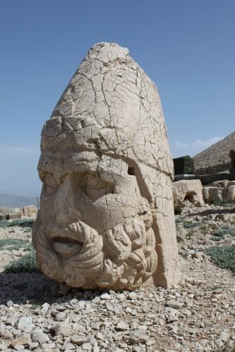 Statue de Zeus à Nemrut Dagi