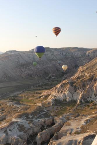 Voller en montgolfière en Turquie