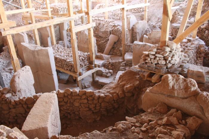 Le site des fouilles à Göbekli Tepe
