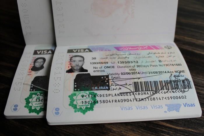 Obtention du visa iranien à Trabzon