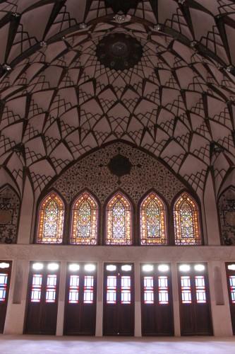 Les magnifiques vitraux de la maison Tabatabaei