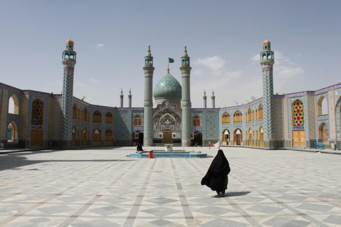 Le mausolée de Shahzadeh-ye Ibrahim