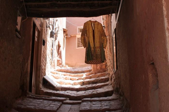 Scène des rues d'Abyaneh