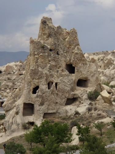 Habitation dans la roche en Cappadoce