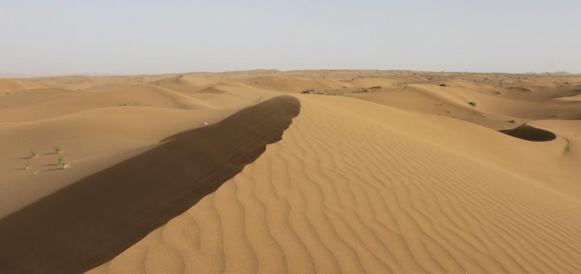 Les dunes au Dasht-e Kavir