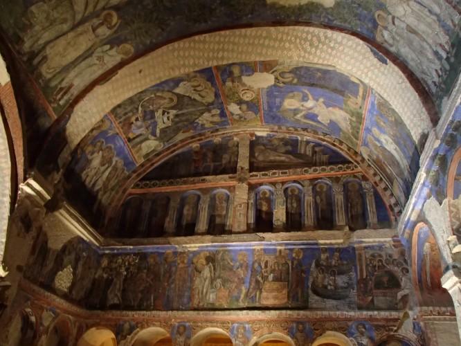 Plafond d'une église dans la vallée d'Ihlara