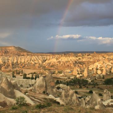 Les paysages mystiques de la Cappadoce