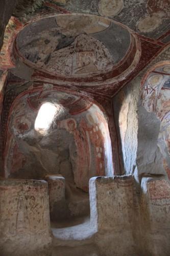 Eglise troglodite en Cappadoce