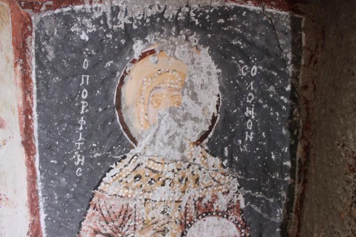 Fresque église troglodyte de Cappadoce