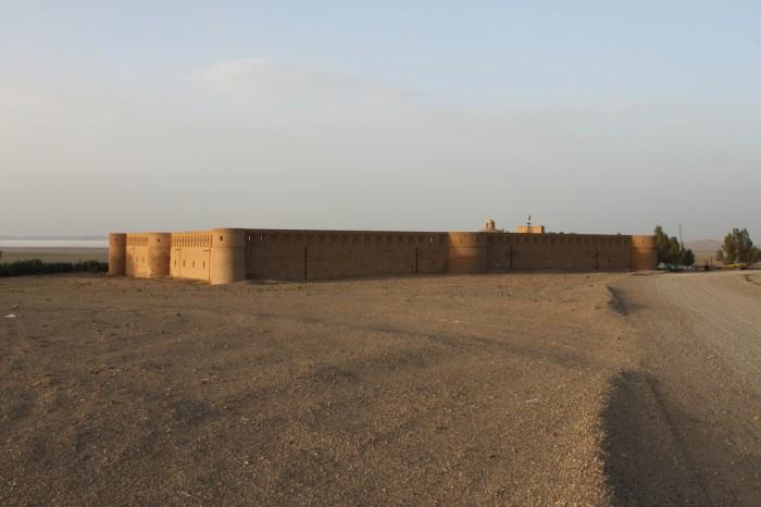 Caravenserail dans le Dasht-e Kavir