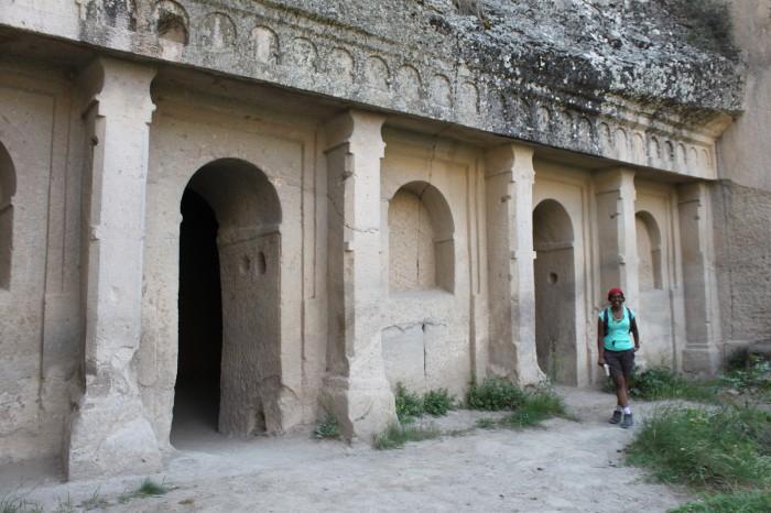 Facade d'une église de Cappadoce