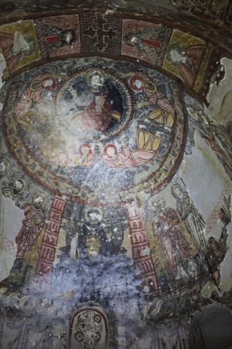 Chapelle troglodyte de Cappadoce