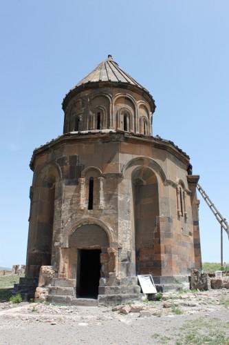 L'église Saint-Grégoire d'Abougraments sur le site d'Ani