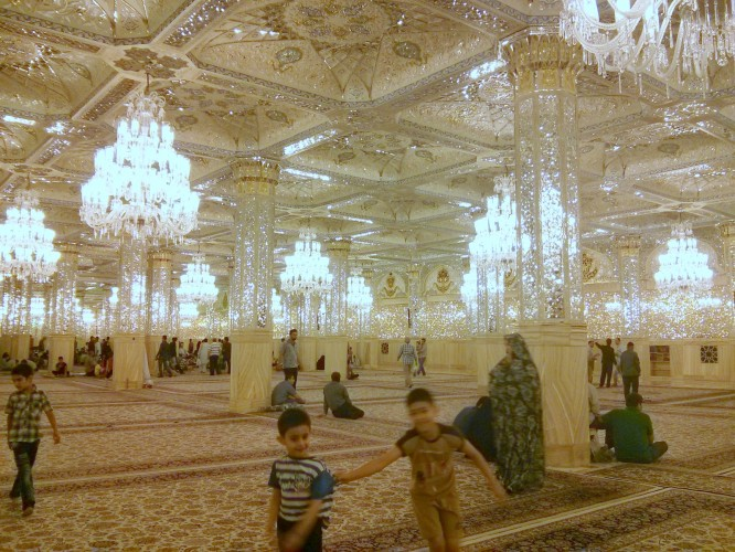 Le sous-sol du mausolée de Mashaad