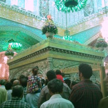 Mashhad, autour d'un tombeau