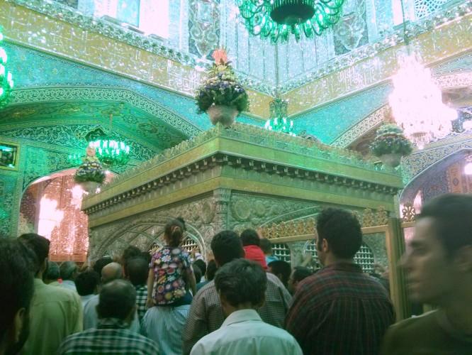 Tombeau de l'imam Reza à Mashaad