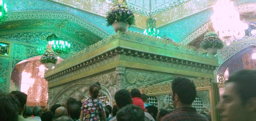La tombe de l'imam Reza