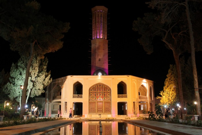 Jardin Dowlat Abad à Yazd
