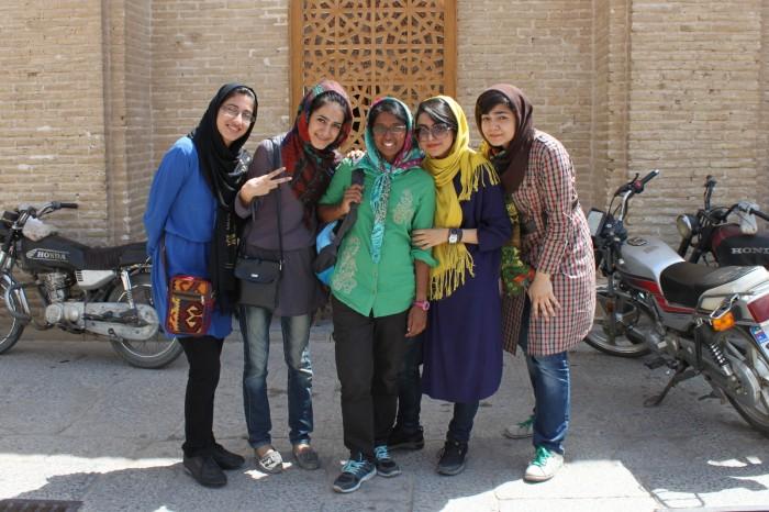 Jeunes filles iraniennes à Yazd