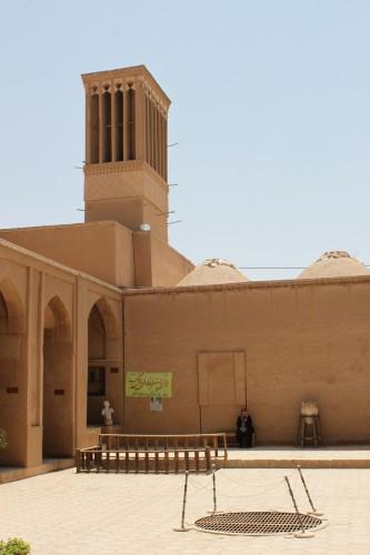 Tour à vent à Yazd