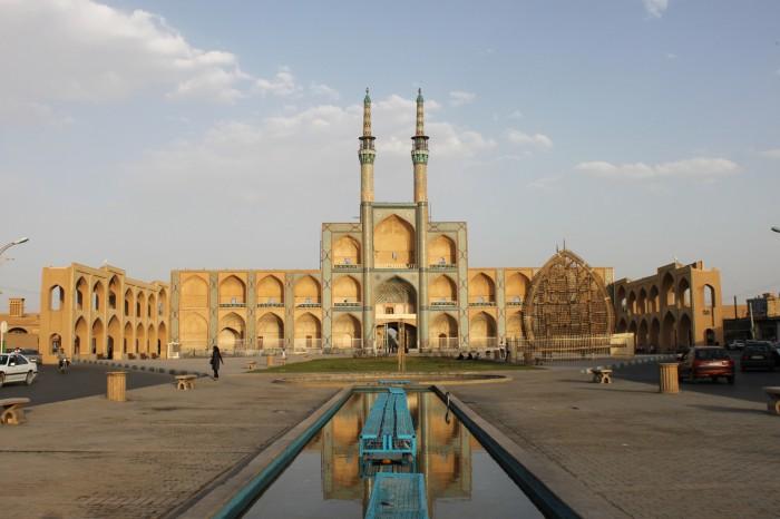 Amir Chakhmagh à Yazd