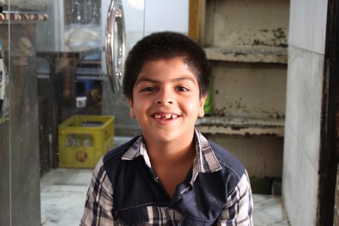 Jeune garçon à Yazd