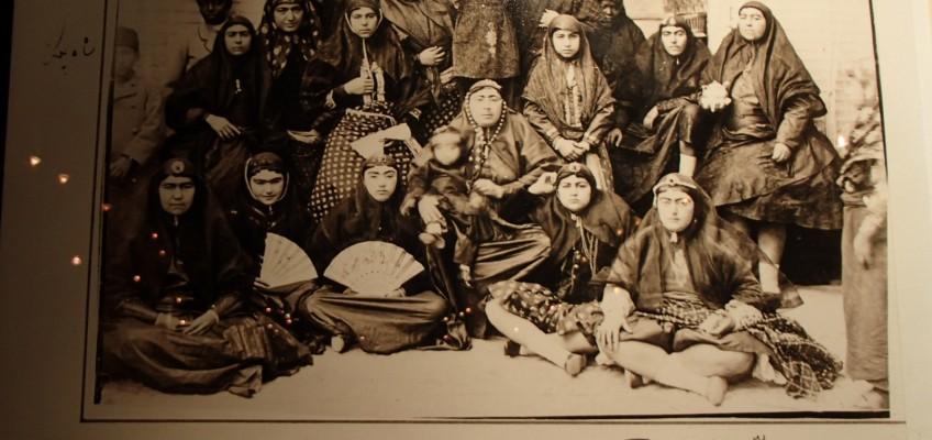 Le harem d'un Sha de l'ère Qajar... Que des beautés...