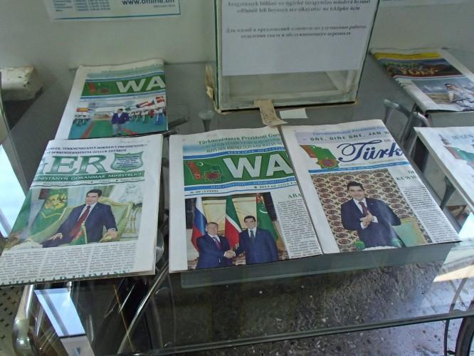 Liberté de la presse au Turkmenistan
