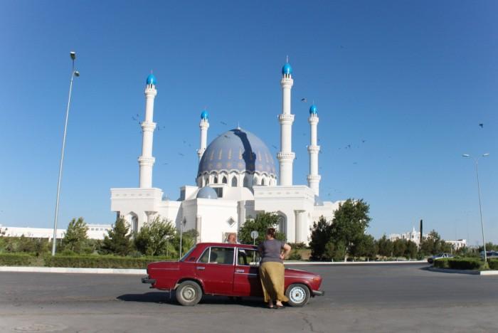 Mosquée à Mary, Turkmenistan