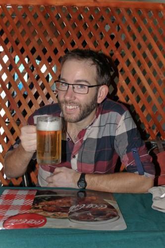 première bière depuis un mois